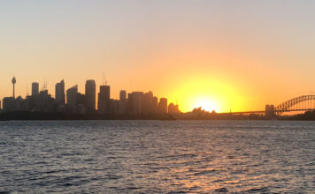 Sydney Skyline and Harbour