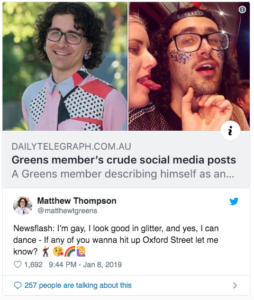Twitter screenshots