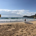 Lifesavers on patrol at Manly Beach Smart Beaches Project Trial Site